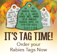 Rabies Tag Time